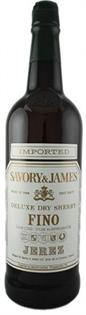 Savory & James Sherry Fino 750ml - Case...
